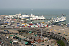Dover Port, July 22nd 2004 (Suburban_Jogger) Tags: po englishchannel seafrance doverport