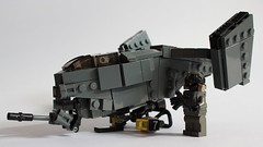 VASP Gunship (✠Andreas) Tags: lego military vtol gunship attackhelicopter legoaircraft legomilitary legovtol legogunship vtolgunship gunshipvtol armoredvtol legoattackhelicopter legoarmoredvtol