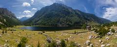 Estany De Llebreta (Isaki ) Tags: panorama lake lago panormica estany isaki panormica valldebo parcnacionaldaigestortesiestanydesantmaurici estanydellebreta canoneos5dmarkiii