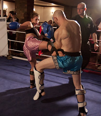 Robyn Macperhson v Neil Sanderson (duncan_ireland) Tags: club neil duke september gordon thai rebellion robyn clan gym muay sanderson inter muaythai kingussie interclub 2013 neilsanderson dukeofgordon clanmuaythai rebelliongym macperhson robynmacperhson