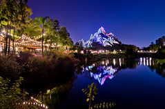 Disney's Animal Kingdom - Asia at Night
