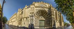 Fachada oeste Catedral - Puerta de la Asunción - Sevilla (cives-expat) Tags: españa sevilla catedral fachadaoeste puertadelaasuncióncatedralespañapuertadelaasunciónsevillafachadaoestepanorámica