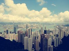 The Peak (emilykinloch-davis) Tags: city nightphotography sky holiday skyline hongkong cityscape nightlife thepeak kowloon hongkongbay
