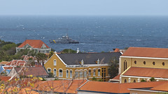 View from Fort Nassau :: Willemstad.Curacao (:: Blende 22 ::) Tags: flower color green yellow canon curacao willemstad antilles netherlandsantilles caribbian fortnassau ef70200mmf4lisusm canoneosd canoneos5dmarkii dutchcaribbian