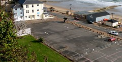 Spa Car Park, Shanklin - Isle of Wight.    Formally the site of The Royal Spa Hotel (BOB@ wootton) Tags: park beach car hotel site royal isleofwight esplanade spa isle wight shanklin iow formally