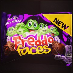 Photo of Freddo Faeces. Ahem I meant Faces.