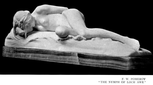 Frederick William Pomeroy (1856-1924) - The Nymph of Loch Awe (1897)