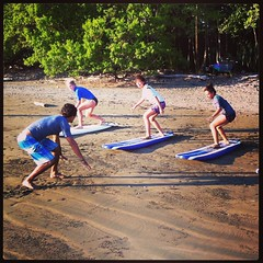 surf lessons (La Cusinga Eco Lodge) Tags: vacation food costa tourism beach yoga studio rainforest paradise surf kayak photos hiking dolphin birding scuba surfing rica corcovado retreat dolphins whales organic sup osa sustainable cst ecolodge costaballena lacusingaecolodge