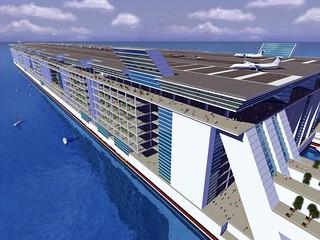 美国设计出海上漂浮城市 很科幻