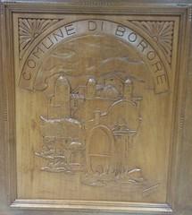 Comune di Borore - Incisione tratta da xilografia di Edimo Mura (Borghi Autentici d'Italia) Tags: sardegna borore marghine borghiautenticiditalia