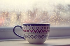 Warm Your Bones (Claire Weller 1995) Tags: christmas hot cup warm chocolate girly whimsical