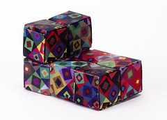 Origami création - Didier Boursin - Cube articulé