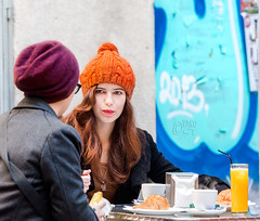 Breakfast in the gothic quarter -I- (Paco CT) Tags: barcelona people woman female breakfast mujer spain women gente candid young lifestyle desayuno mujeres esp joven candidshot candidphotography robado estilodevida 2013 pacoct