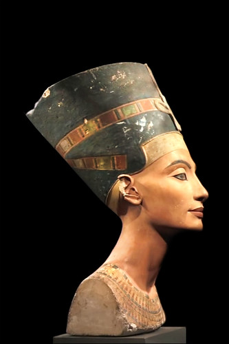 La Reine Nefertiti (Musée égyptien, Berl by dalbera, on Flickr