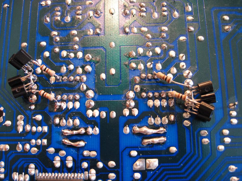 how to change broken op amp in nad cd player