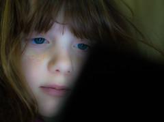 DS Eye (Breatnac Photography) Tags: portrait playing game girl photography eyes child nintendo gaming dsi breatnac