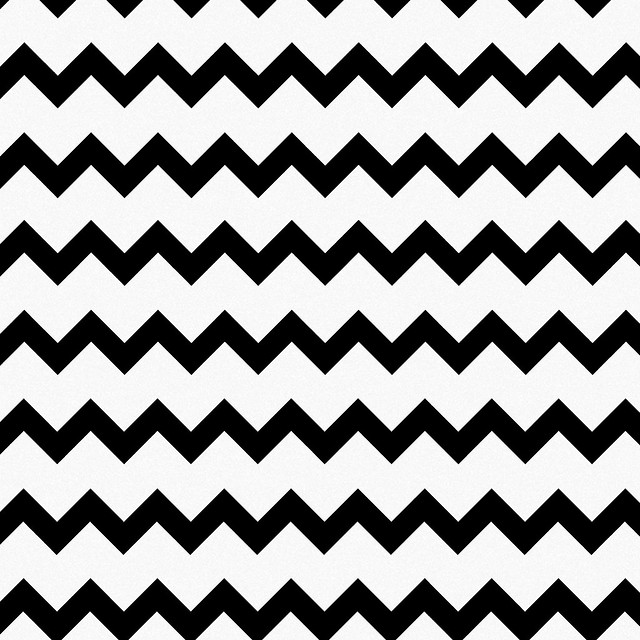 Thumbnail for Best Black and White Chevron Shower Curtain | Chevron Print