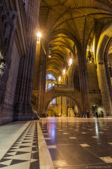 Floorspace - Liverpool Anglican Cathedral (Glyn Owen Photography & Image-Art) Tags: light reflection stone liverpool tile religious worship arch floor cathedral mosaic landmark merseyside
