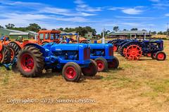 Fordson Major Tractors (Simon-EmX5) Tags: perth tractors westernaustralia farmmachinery sundaycruise nearbunbury dardanupheritagepark simoncorston garybrookesmemorialday