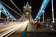 Tower Bridge at Rush Hour (Christophe Pfeilstcker) Tags: uk london night towerbridge le xris74 pixpassion