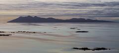 Rum Skyline (cotswoldman) Tags: seascape colour skye clouds landscape scotland seaside highlands isleofskye scottish cloudscape scottishhighlands isleofrum highlandsandislands tarskavaig lochsandglens gloucestercameraclub