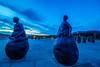 The Conversation Piece, South Shields (Lee Burtoft) Tags: sculpture haven tower beach bronze river pier juan little harbour south north tyne east conversation piece figures littlehaven shields weebles munoz wobblymen