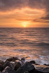 Holland Gap Sun (Deviant Light) Tags: sunrise coast northsea essex 32 eastanglia frinton leefilters hollandgap