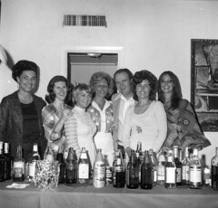 "Pioneers Spring Meeting 1975-Ann Anderson, Ellen Brown, Sharon Lane, Mr. Mrs Pat Lowney, Eileen Estes, Mary Pebbles <a style=""margin-left:10px; font-size:0.8em;"" href=""http://www.flickr.com/photos/130192077@N04/16224021298/"" target=""_blank"">@flickr</a>"
