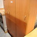 Beech tall 3 door unit