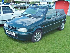 416 Rover 100 Convertible (1995) (robertknight16) Tags: austin metro rover british arg 1990s bmc enfield bl n196nws