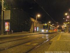 Sete Bicas (ernstkers) Tags: flexityswift lightrail metrodoporto night porto portugal streetcar tram tramvia tranvia trolley strasenbahn senhoradahora mptrunkroute bonde sprvagn