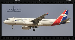 7O-AFA (EI-AMD Photos) Tags: airport dubai photos aviation international airbus a320 omdb yemenia eiamd 7oafa