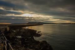 The Mount Batten Breakwater (trevorhicks) Tags: sunset sea water canon harbour plymouth mount devon sound tamron breakwater 6d batten