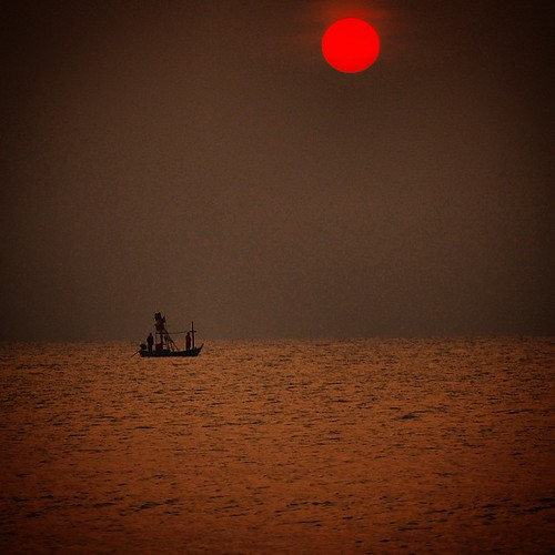 Day 39/365: Lovely sunrise at Hua  Hin