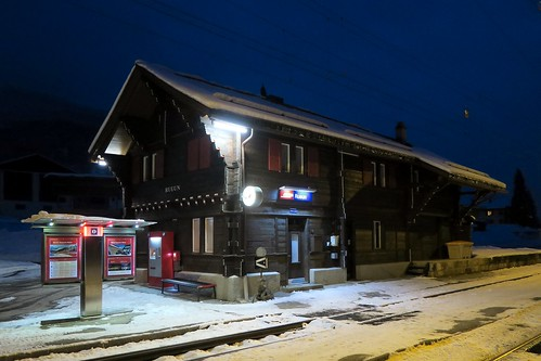 RhB Station Rueun
