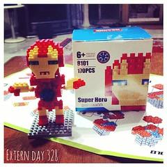 งานอดิเรกใหม่ #ต่อเลโก้ #Ironman #lego #170pieces #ForAges6+