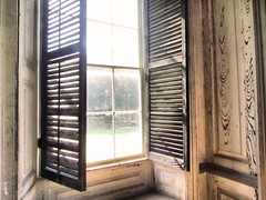 Let the Sunshine In (gabi-h) Tags: usa window sunshine wooden southcarolina charleston shutters preservation draytonhall windowpanes gabih notrestoration