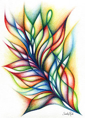 Fin (Sandra Rede) Tags: abstract art painting paper colorful arte abstractart arts doodle abstraction abstracto abstraccin doodleart sandrarede