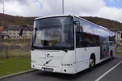 Volvo 8700 LE VVR 8526 met kenteken R:UG NV 16 in Sassnitz 24-04-2016 (marcelwijers) Tags: volvo nv le rug 16 met 8700 sassnitz kenteken vvr 8526 24042016
