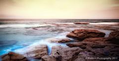Lonely Sunset at Bondi Beach - Sydney (kodit0s) Tags: ocean longexposure sunset sea sky cloud beach nature bondi gloomy sydney australia lonely canon450d