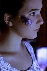 (demirymer) Tags: people girl glitter canon 50mm purple indoor teen teenphotography canonphotography