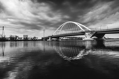 One of the stills from the Lowry Ave. Bridge time lapse in my Minneapolis video edited in a different way. (jah_1315) Tags: square squareformat iphoneography instagramapp uploaded:by=instagram