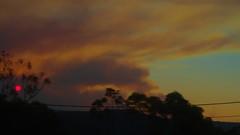Red sky eye (Occasionally Focused) Tags: red sky pentax manualfocus smcpentaxm1250mm pentaxm manuallens manualexposure unmetered rawtherapee justpentax