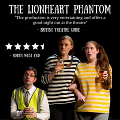 The Lionheart Phantom @gdtheatreco 11-12 July 2016 @thecastlehotel @NQManchester (gmfringe) Tags: new uk summer england festival poster manchester actors pub cheshire northwest theatre britain stage events yorkshire performance lancashire bee entertainment lgbt haunting northern drama farce oldhamstreet newwriting thecastlehotel andrewmarsden whatson greatermanchesterfringe tesshumphrey granddametheatre thelionheartphantom