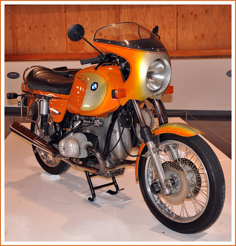1975 BMW R90 S Motorcycle