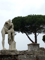 Ostia Antica - one of the city's three oldest temple (ashabot) Tags: italy antiquities