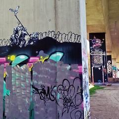 bridge-gallery-graffiti-kunst (Kaffeebecher / Streetart / Staubsauger) Tags: bridgegallery loerrach autobahn kunstausstellung graffitigermany streetart007