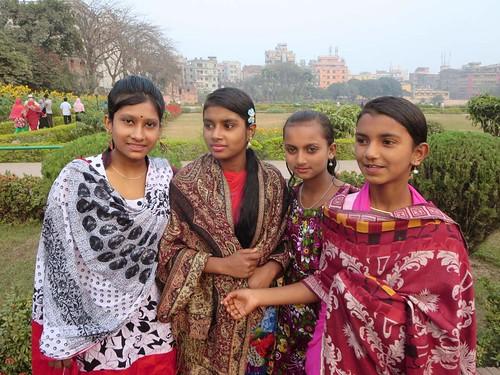 Young Women in Dhaka