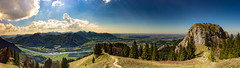 HEUBERG PANORAMA (Regus22) Tags: panorama nature stone clouds canon germany eos austria climbing huge l usm alp ef 1740mm hdr cloudscape