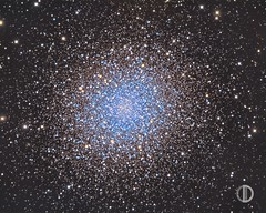 M13, The Great Cluster in Hercules (dvalid) Tags: sky night dark stars star galaxy astrophotography astronomy